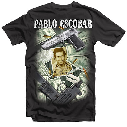 PABLO ESCOBAR MONEY GUNS