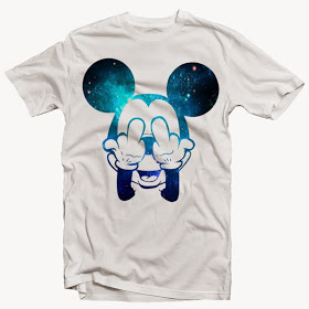 Mickey Space Fingers