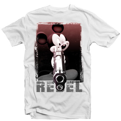 REBEL Mickey mouse gun